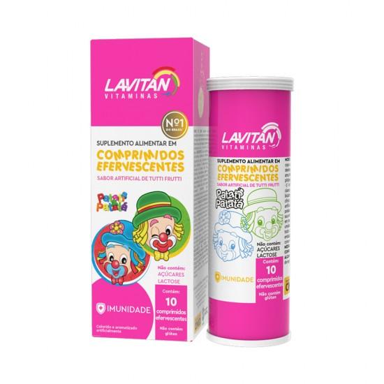 Lavitan Infantil Patati Patata c/ 10 comp eferv Cimed