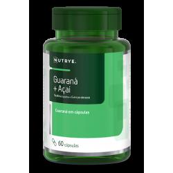 Guaraná + Açaí c/ 60 cápsulas  Nutrye